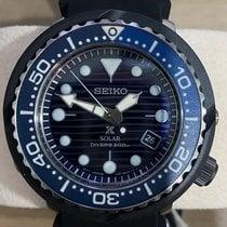 Seiko Prospex Steel 46mm Blue No numerals