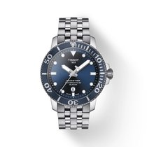 Tissot Seastar 1000 neu Automatik Uhr mit Original-Box und Original-Papieren T120.407.11.041.01