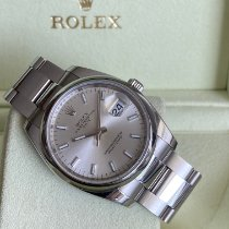 Rolex Oyster Perpetual Date Steel 34mm Silver No numerals United States of America, Florida, hallandale