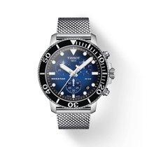 Tissot Seastar 1000 neu Quarz Chronograph Uhr mit Original-Box und Original-Papieren T120.417.11.041.02