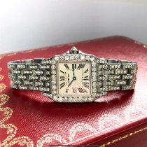 Cartier Santos Demoiselle Steel Champagne United States of America, New York, New York