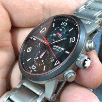 Montblanc 113827 Steel 2015 Timewalker 43mm pre-owned