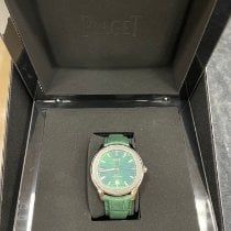 Piaget Polo S Steel 42mm Green No numerals United States of America, Texas, Houston