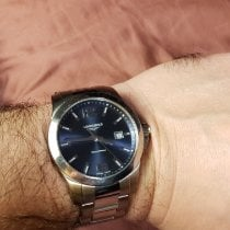 Longines Conquest Steel 41mm Blue Arabic numerals United States of America, Florida, Winter Springs