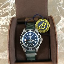 Breitling Superocean 42 pre-owned 42mm Black Date Rubber