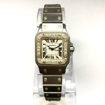 Cartier Gold/Steel Santos Galbée pre-owned United States of America, New York, New York