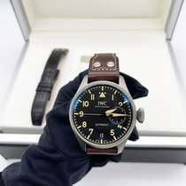 IWC Big Pilot Titanium 46.2mm Black Arabic numerals