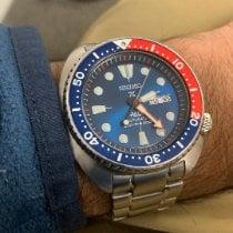 Seiko Prospex Steel 45mm Blue No numerals