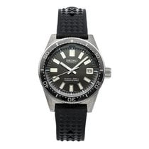 Seiko Steel Automatic Black No numerals 39.9mm pre-owned Marinemaster