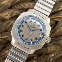 Universal Genève Steel 36mm Automatic Polerouter pre-owned United States of America, California, LOS ALTOS