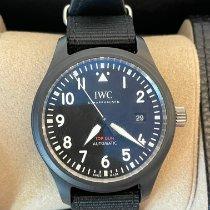 IWC Fliegeruhr Chronograph Top Gun Keramik 41mm Schwarz Arabisch