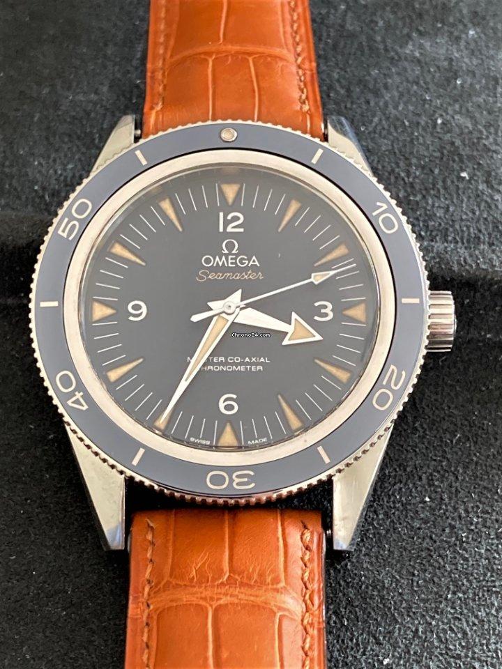 Omega Seamaster 300 233.92.41.21.03.001 pre-owned