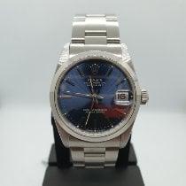 Rolex Lady-Datejust Steel 31mm Blue Roman numerals Singapore