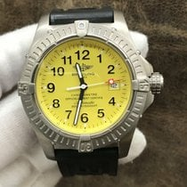Breitling Avenger Seawolf Titanium 44mm Yellow Arabic numerals United States of America, New York, New York
