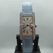 Cartier Tank Américaine White gold Silver Singapore