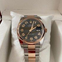 Rolex Datejust 116201 Πολύ καλό Χρυσός / Ατσάλι 36mm Αυτόματη