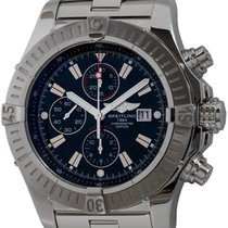 Breitling Super Avenger pre-owned 48mm Black Chronograph Date