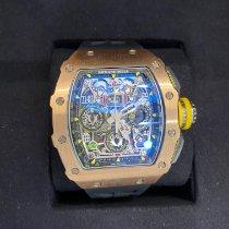 Richard Mille RM011-03 Růžové zlato 2017 RM 011 49.94mm nové
