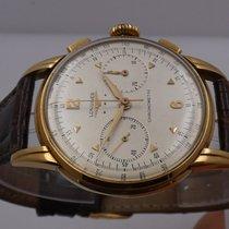 Longines Column-Wheel Chronograph Желтое золото 37mm Cеребро Aрабские