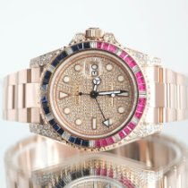Rolex 126715CHNR Rose gold 2020 GMT-Master II 40mm pre-owned United Kingdom, Newcastle Upon Tyne