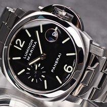 沛纳海 Luminor Marina Automatic 钢 40mm 黑色 阿拉伯数字 中国, 上海