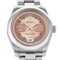 Rolex Oyster Perpetual 31 Сталь 31mm Розовый