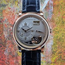 A. Lange & Söhne Lange 1 Rose gold 38.5mm Silver Roman numerals
