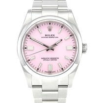 Rolex Oyster Perpetual 36 Steel 36mm Pink No numerals United Kingdom, Manchester