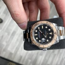 Rolex Yacht-Master 40 Gold/Steel 40mm Black No numerals