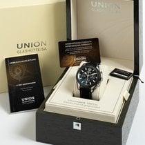 Union Glashütte Belisar Chronograph Steel 44mm Black