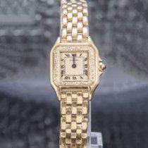 Cartier Panthère Ouro amarelo 21mm Champanhe Romanos