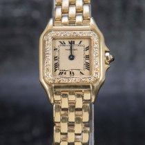 Cartier Sarı altın 21mm Quartz 8057917 ikinci el