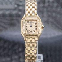 Cartier Or jaune 21mm Quartz 8057917 occasion