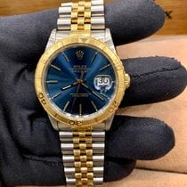 Rolex Datejust Turn-O-Graph Gold/Steel 36mm Blue