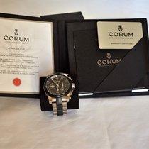 Corum Admiral's Cup Challenger nuevo 2011 Reloj con estuche y documentos originales 753.935.06/V791 AN52