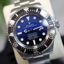 Rolex Sea-Dweller Deepsea 126660 D-BLUE Very good Steel 44mm Automatic United Kingdom, Gatwick