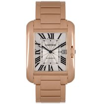 Cartier Tank Anglaise Rose gold 36.2mm Silver Roman numerals