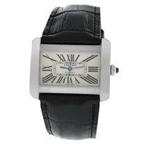 Cartier Tank Divan Steel 38mm White Roman numerals United States of America, New York, New York