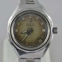 Zenith Steel Automatic Grey 37mm pre-owned Defy