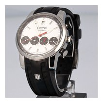 Eberhard & Co. Chrono 4 Steel 43mm White No numerals