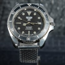 Heuer Steel 42mm Automatic 844-3 pre-owned