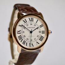 Cartier Ronde Solo de Cartier Pозовое золото 42mm Cеребро Римские