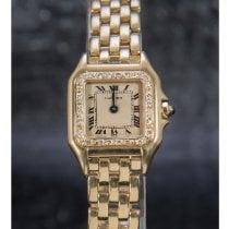 Cartier Panthère Желтое золото 21mm Цвета шампань Римские