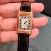 Jaeger-LeCoultre Reverso Classic Small Duetto Roségold 34mm Silber Arabisch