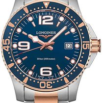 Longines HydroConquest Steel 41mm Blue