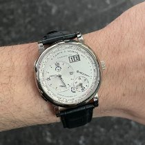 A. Lange & Söhne new Manual winding 41.9mm White gold Sapphire crystal