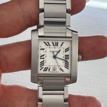 Cartier Tank Française 2302 Very good Steel 28mm Manual winding United States of America, Florida, Miami