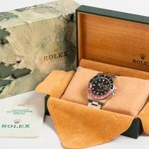 Rolex 16710 Stål 1998 GMT-Master II 40mm brugt