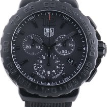 TAG Heuer Formula 1 Quartz Steel 42mm Black Arabic numerals