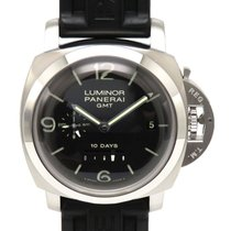 Panerai Luminor 1950 10 Days GMT Steel 45mm Black